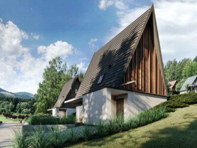 Budynek usług turystycznych / Dom typu BRDA / Radków / Góry Stołowe / 2020